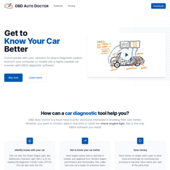 obdautodoctor com at WI  OBD2 software for car diagnostic