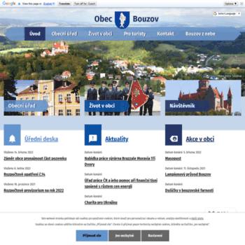 Obec-bouzov.cz thumbnail