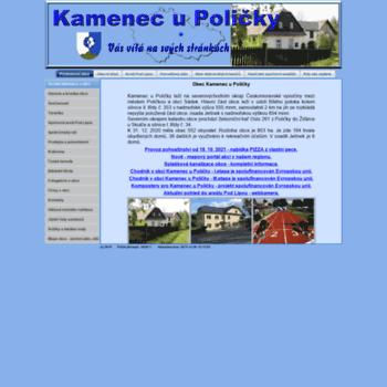 Obec-kamenec.cz thumbnail