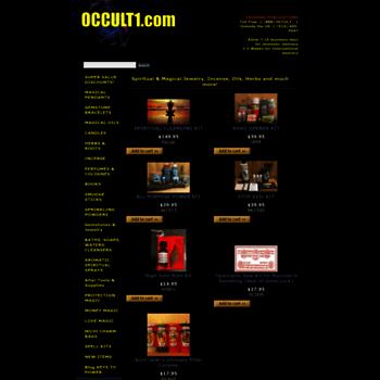 occult1 com at WI  Original Publications Botanica & Santeria