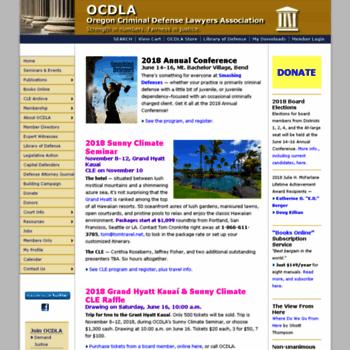Ocdla.org thumbnail