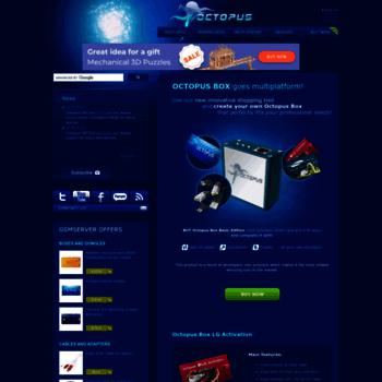 octopusbox com at WI  Octopus Box - recovering, unlocking