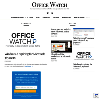 office-watch com at WI  Office Watch - Your independent