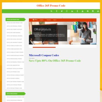 Office365promocode.com thumbnail