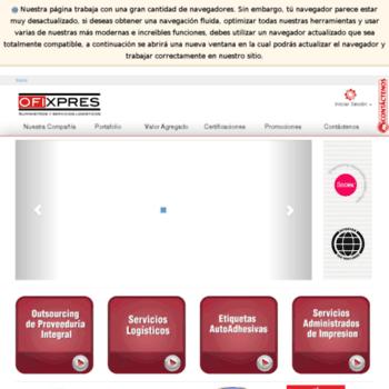 Ofixpres.com.co thumbnail