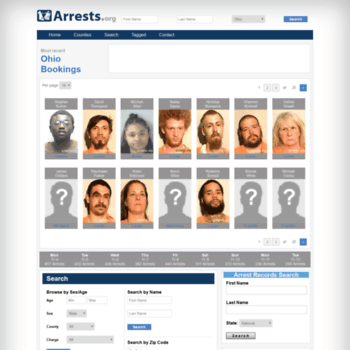 Ohio.arrests.org thumbnail