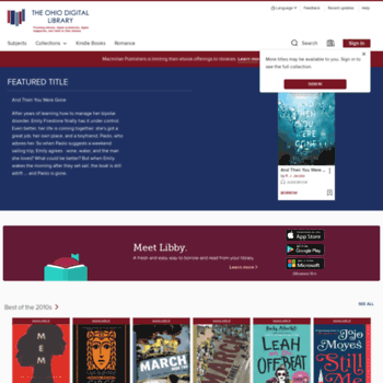 Ohioebooks.org thumbnail