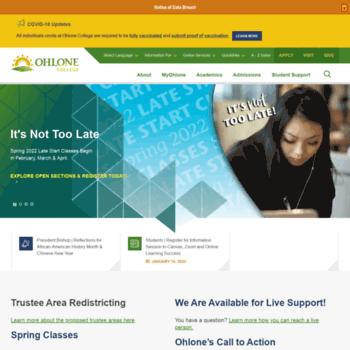 Ohlone.edu thumbnail