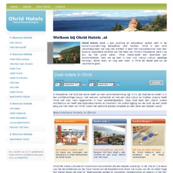 Ohridhotels.nl thumbnail