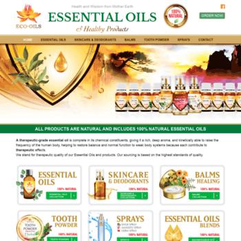 Oilessential.ca thumbnail