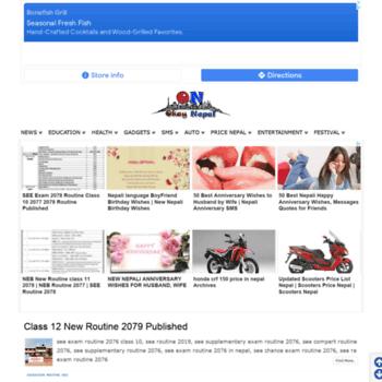 okaynepal com at WI  Okay Nepal | Home