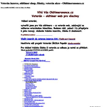 Oldtimeranonce.cz thumbnail