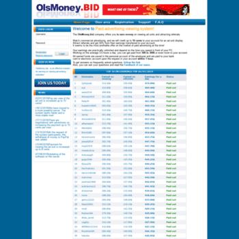 Olsmoney.bid thumbnail