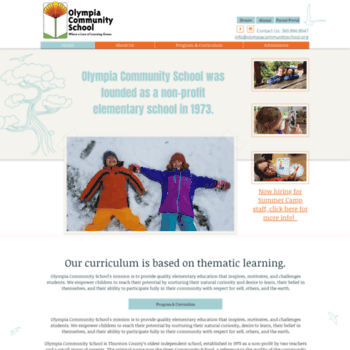 Olympiacommunityschool.org thumbnail