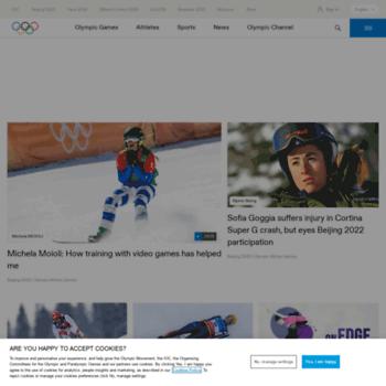 Olympic.org thumbnail