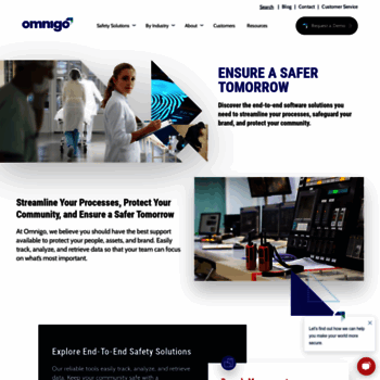 omnigo com at WI  Public Safety Software | Solutions For A