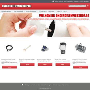 Onderdelenwebshop.be thumbnail