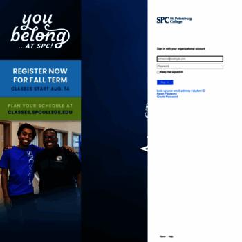 one spcollege edu at Website Informer  Sign In  Visit One