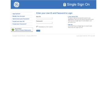 Onehr Ge Com At Website Informer Sso Login Visit Onehr Ge
