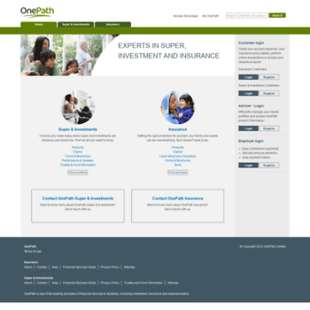 One Path Super >> Onepath Com Au At Wi Onepath Investment Insurance Superannuation