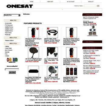 Onesat.ca thumbnail