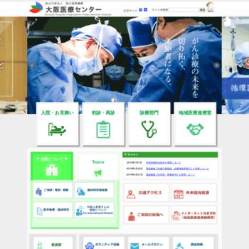 onh go jp at website informer 大阪医療センター visit onh