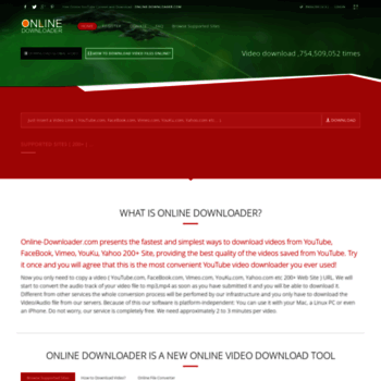 online-downloader com at WI  YouTube Video Downloader, Online Video