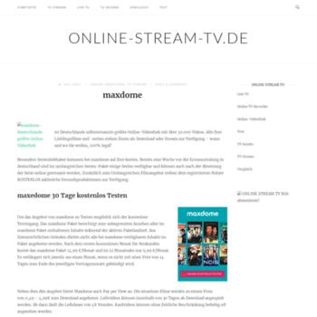 Online-stream-tv.de thumbnail