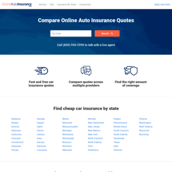 Onlineautoinsurance Com At Wi Auto Insurance Compare Quotes And