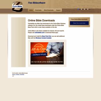 Onlinebible.org thumbnail