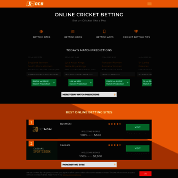 Onlinecricketbetting.net thumbnail