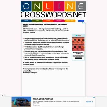 photograph regarding Onlinecrosswords Net Printable Daily named at WI. - No cost