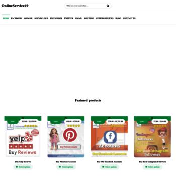 onlineservice49 com at WI  Buy Google Reviews | Buy Facebook