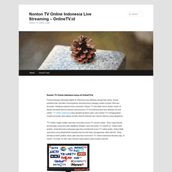 Onlinetv Id At Wi Nonton Tv Online Indonesia Live Streaming