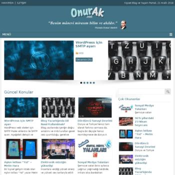 Onurak.net thumbnail