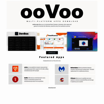 oovoo com at Website Informer  Visit Oovoo