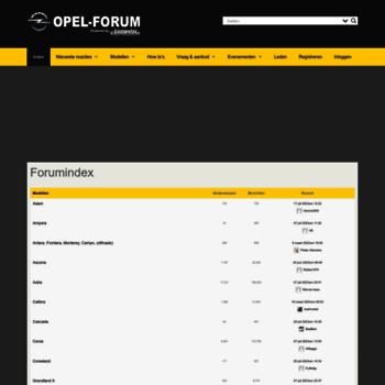 Opel-forum.nl thumbnail