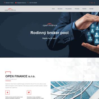 Open-finance.cz thumbnail