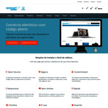 c4bab4d502 opencartbrasil.com.br at WI. OpenCart Brasil - Solução para comércio ...
