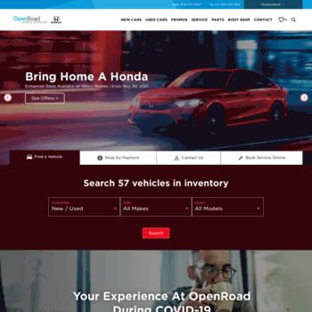Open Road Honda Burnaby >> Openroadhonda Ca At Wi Honda Cars For Sale Openroad Honda Burnaby