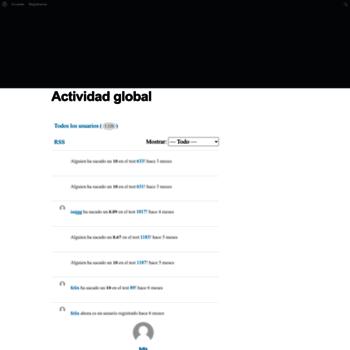 Веб сайт opes.es