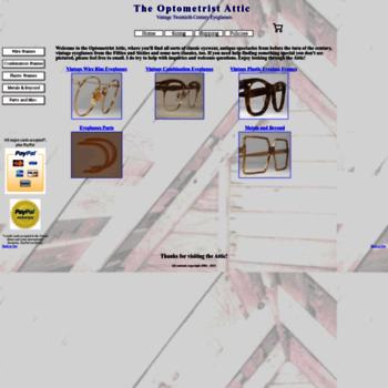 694d44f5c029 optometristattic.com at WI. Optometrist Attic: Vintage Eyeglasses ...
