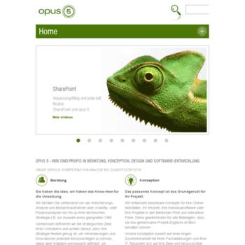 Opus5.de thumbnail