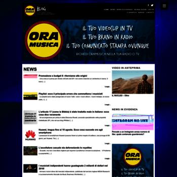 Oramusica.it thumbnail