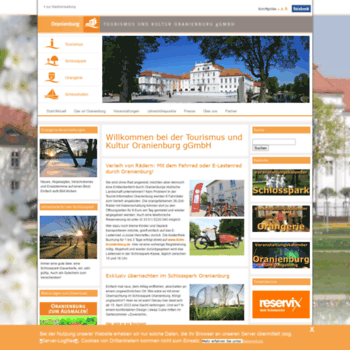 Oranienburg-erleben.de thumbnail