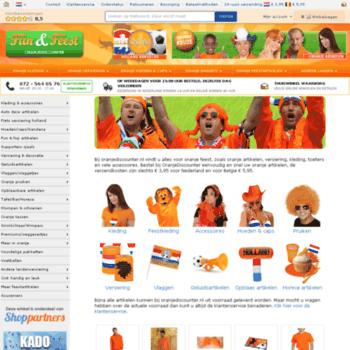 Oranjediscounter.nl thumbnail