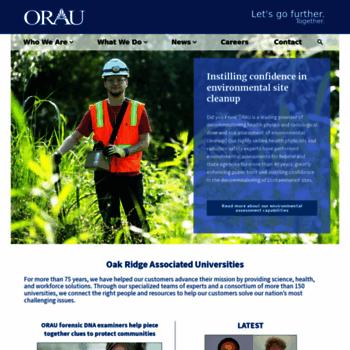 Orau.org thumbnail