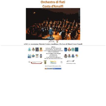 Orchestradifiaticostadamalfi.it thumbnail