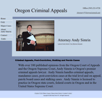 Oregonappeals.net thumbnail