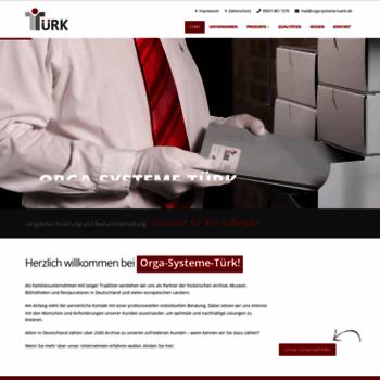 Orga-systeme-tuerk.de thumbnail